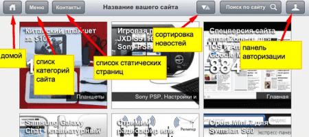 iPad шаблон и хак выбора мобильной версии сайта