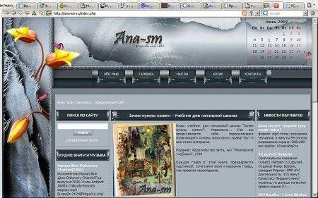 разработка сайта ana-sm.ru
